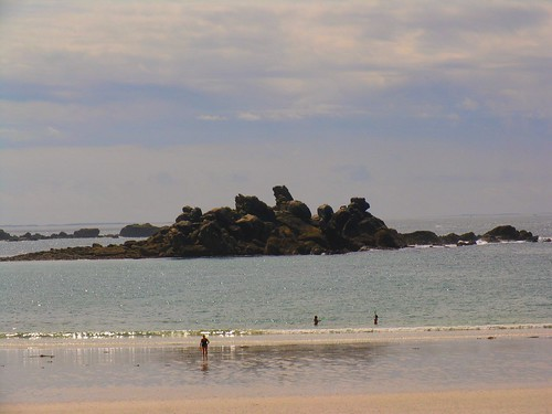 Scène de plage ...