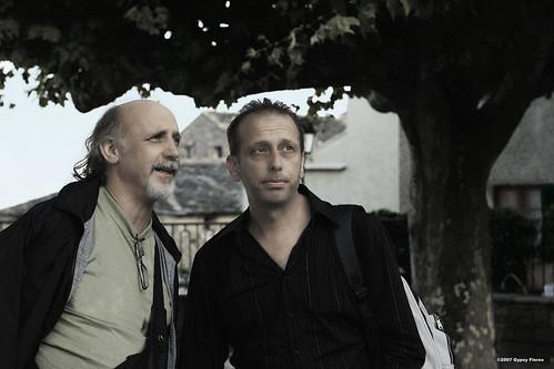 Ghjuvan-Petru Lanfranchi et Claudiu Bellagamba