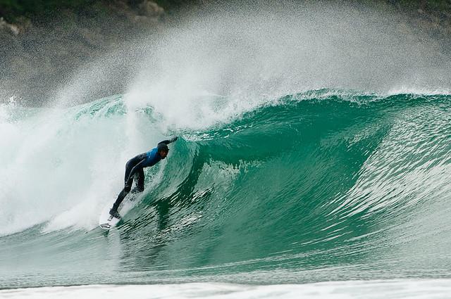 Surfing Dunedin