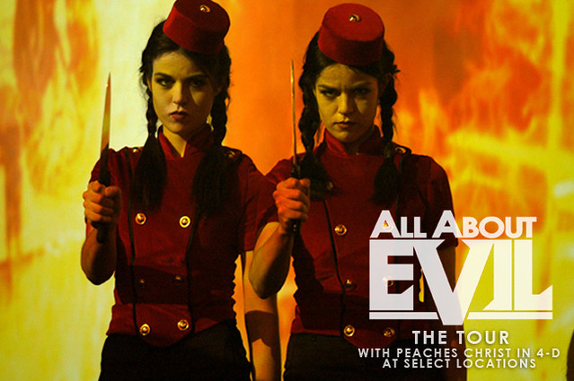 Header of All About Evil