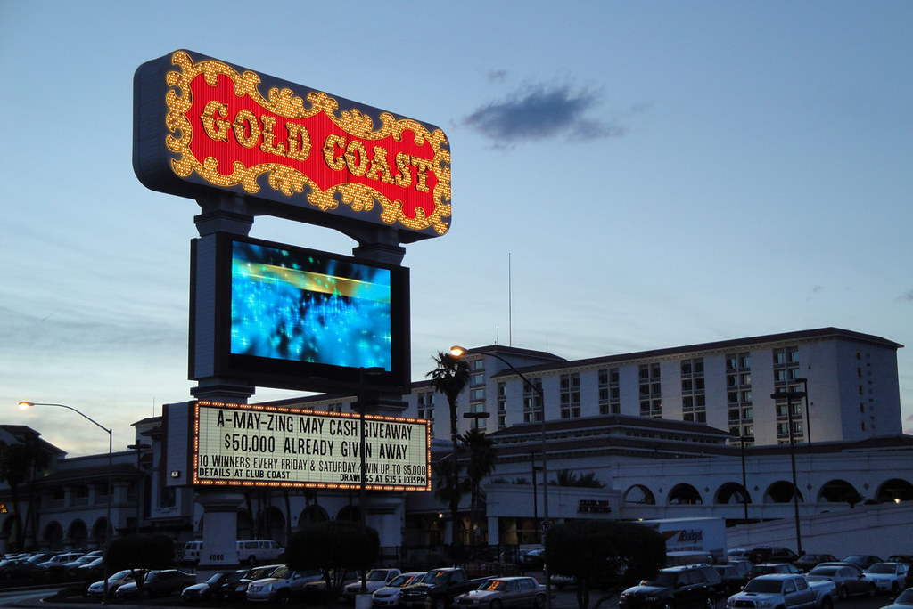 Gold Coast Hotel and Casino, Las Vegas.