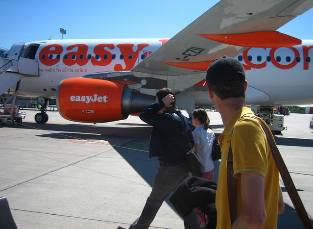 Easy Jet flight by flickr user adactio