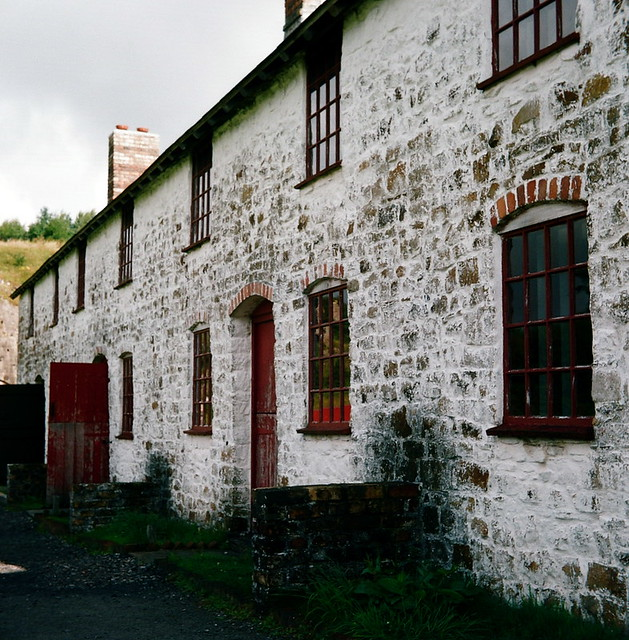 Old Welsh Terraced Houses, Blaenavon. Now Featured In BBC