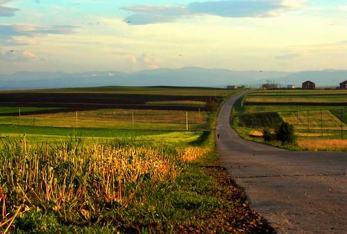 world road sunset europe romania moldova 2007 lucian roumanie moldavia bucovina suceava suceveanulcom