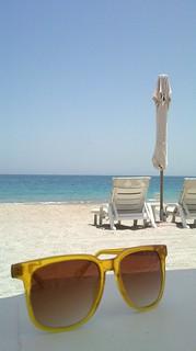 "Image of Beach with a length of 4216 meters. sea art beach sunglasses sand skies unitedarabemirates sunnies الفجيرة dibba sunnygs ø§ù""ùø¬ùšø±ø© dubaiholiday2010"