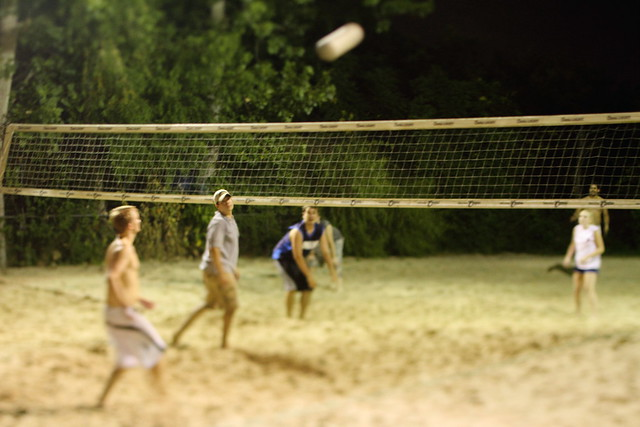 Backyard Sand Volleyball Court : sand volleyball  DJCC sand volleyball at Backyard Beach Bar?  By