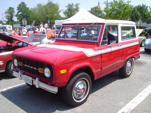 1977 Ford Bronco Maryland Motor Vehicle Administration