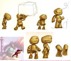 Sackboy: Character Sheet 2