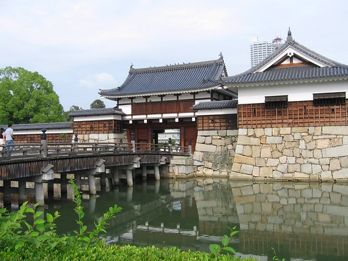 Entrance to Hiroshima Castle