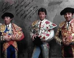 a. Autographed Matador Photographs
