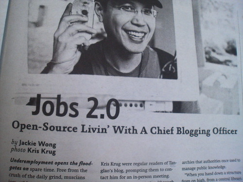 Jobs 2.0 Open Source Livin' with a Chief Blogging Officer - Image1402 | by roland