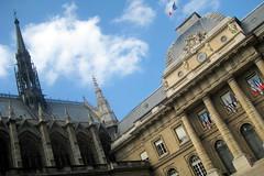 Paris - Île de la Cité: Sainte-Chapelle and Palais de Justice