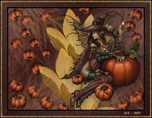 The Pumpkin Witch Fairy
