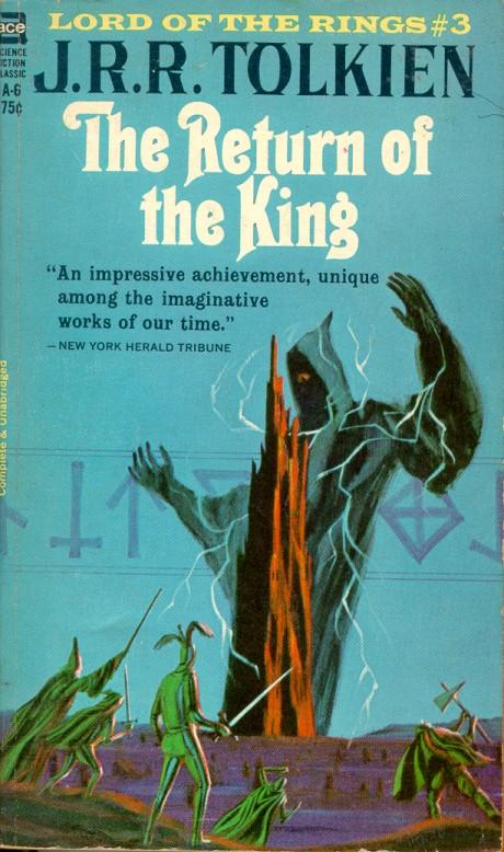 Lotr Book Cover Art : Monster brains jack gaughan paperback cover illustrations