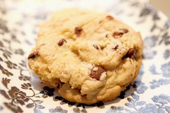 chocolate chip cookie with fleur de sel