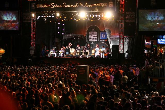 Montreal jazz festival - Flickr CC ilker