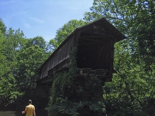 Covered Bridge at Waldo Alabama