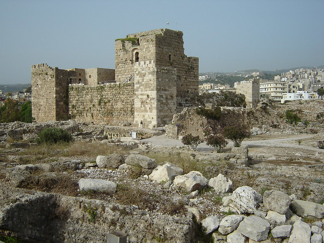 Crusader castle (Byblos)  Flickr - Photo Sharing!