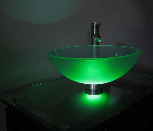 Green Vessel Sink : Green vessel sink mounting ring light Flickr - Photo Sharing!