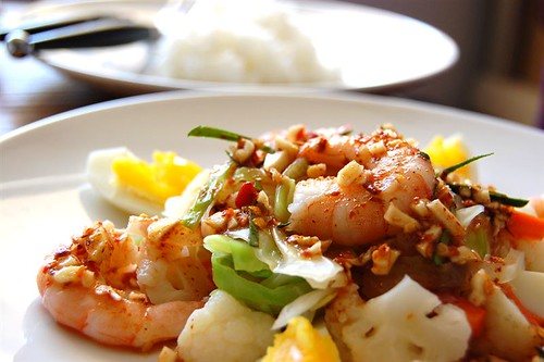 Spicy Shrimps Salad