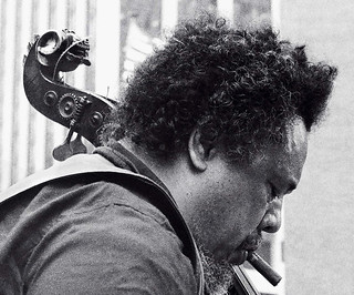 Charles Mingus' lion's head bass scroll by Tom Marcello, on Flickr