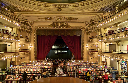 This is No Barnes and Nobel: El Ateneo Bookstore