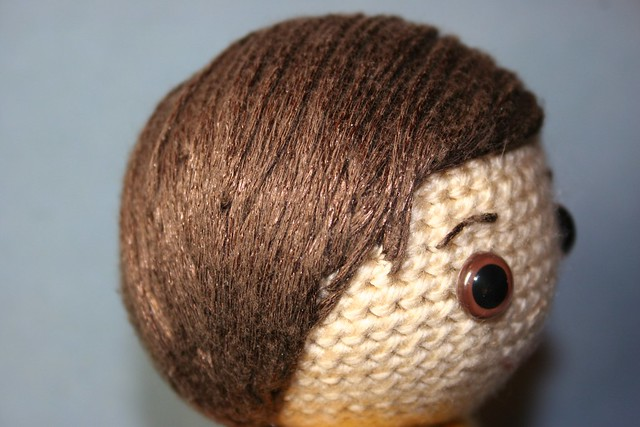 Amigurumi Curly Hair Tutorial : Amigurumi Hair Tutorial