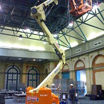 Check out the cherry-picker!