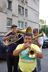 saxophone(0.0), guitar(0.0), horn(0.0), sousaphone(1.0), woodwind instrument(1.0), tuba(1.0), trumpet(1.0), trombone(1.0), brass instrument(1.0), wind instrument(1.0),