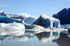 arctic ocean, arctic, winter, glacial landform, mountain range, ice cap, polar ice cap, ice, glacier, reflection, sea ice, freezing, iceberg,
