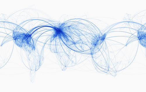 Global Air Routes by John O'Sullivan