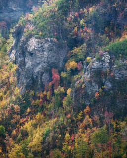 October Cliffs - Linville Gorge