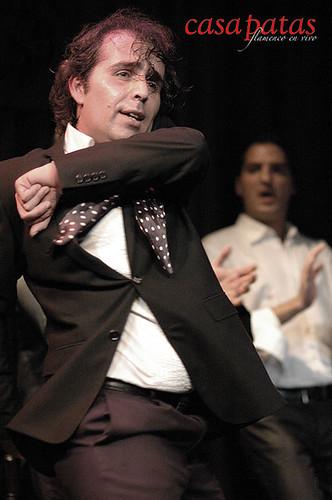 Pepe Torres en nuestro tablao. Foto: Martín Guerrero