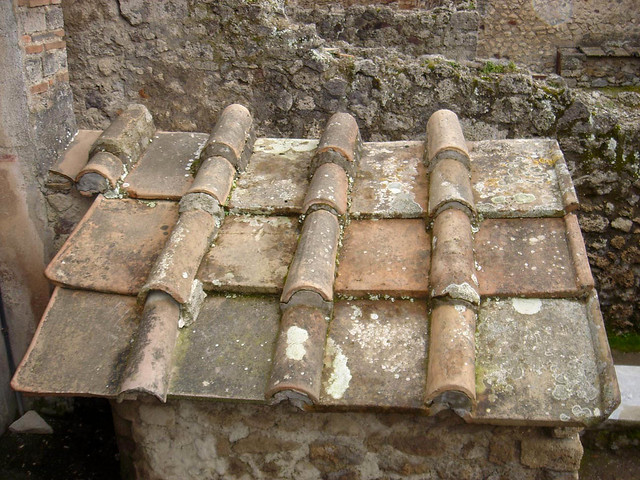Roman Roof Tiles Pompei Italy Flickr Photo Sharing