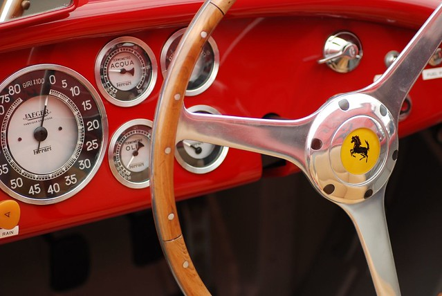 Ferrari 166MM Old Fashioned GPS 1949