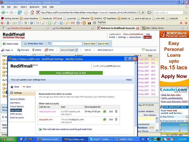 Rediffmail+sign+in+account