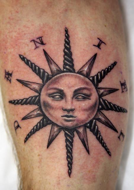 sunface Tattoo