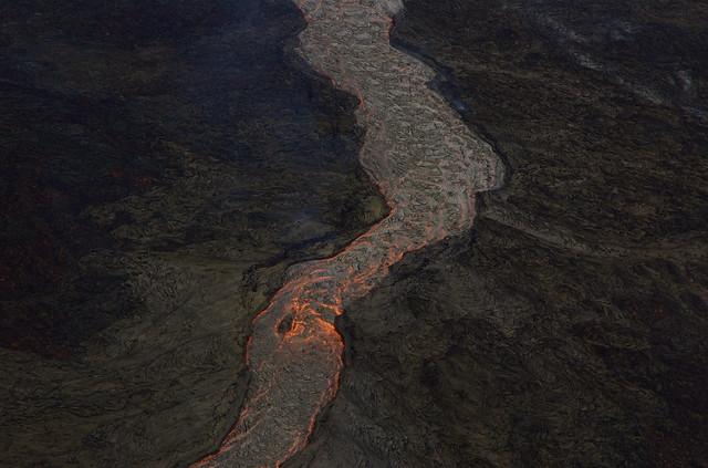 Río de lava, Volcán Kilauea, Hawái