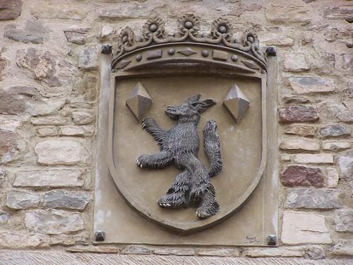 Escudo de Lobera de Onsella
