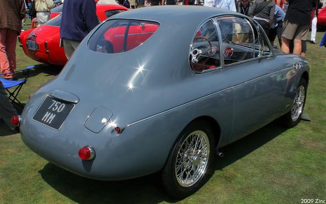 1949 Fiat Topolino 750MM Zagato Coupé - rvr