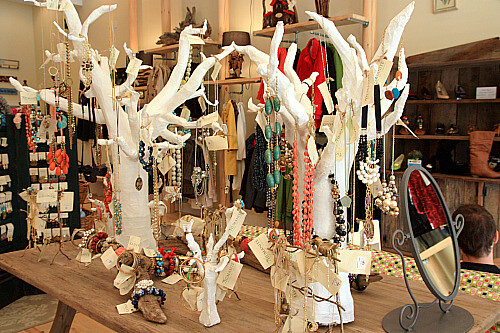 Paper mache jewelry trees flickr photo sharing for How to make paper mache jewelry
