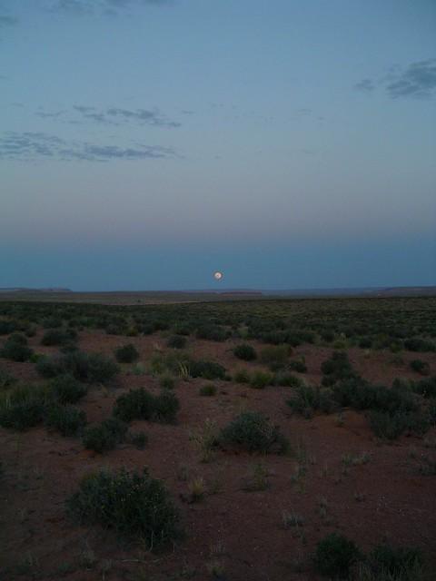 Utah Moonrise