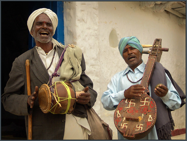 Singers of the villages