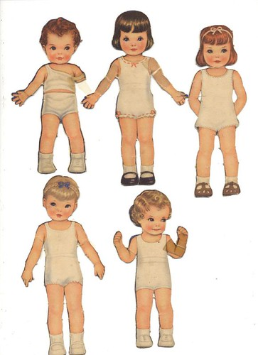 Queen Holden Paper Dolls 1.