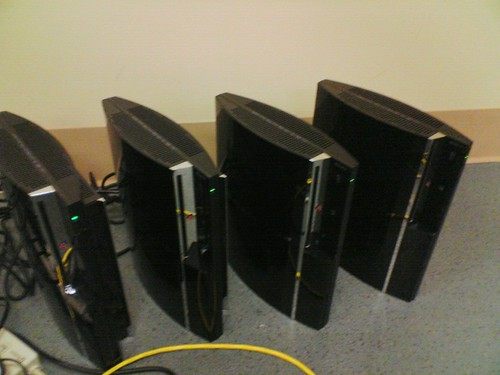 Parallel PS3s