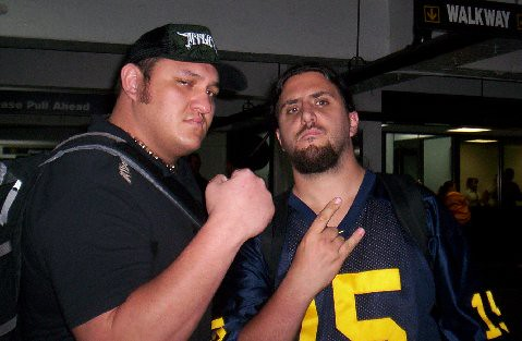 """The Samoan Submission Machine"" Samoa Joe"