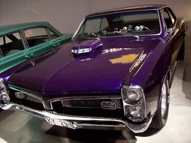 The 1967 Pontiac GTO from XXX (the Vin Diesel movie).