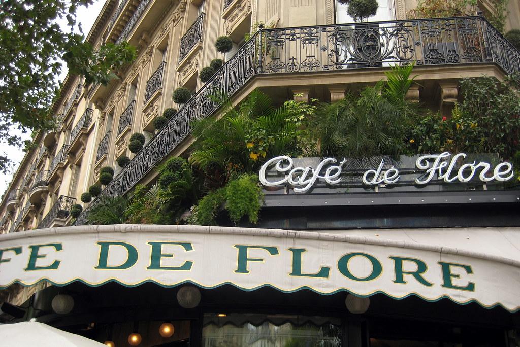 Paris - St-Germain-des-Prés: Café de Flore