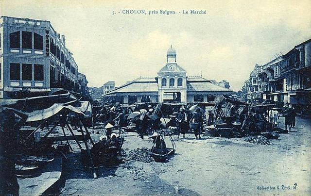 5 VIETNAM - Cholon - Environs de Saigon - Le Marché