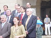 Felipe Vela en la foto de la nueva corporación municipal